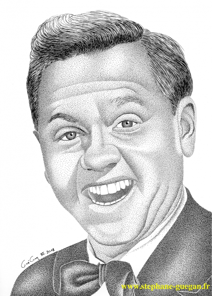 Mickey Rooney by GUEGAN